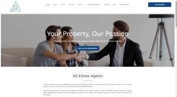 AG Estate Agents screenshot