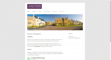 Alexander Letting Agents, Bicester screenshot