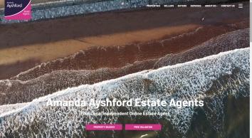 Amanda Ayshford Estate Agents screenshot