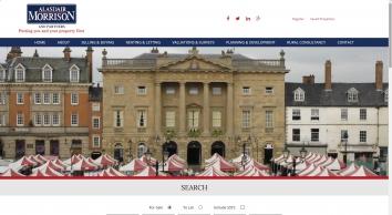 Alasdair Morrison and Partners, Newark screenshot
