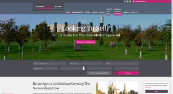 Andrew Downing-Booth Estate Agents screenshot