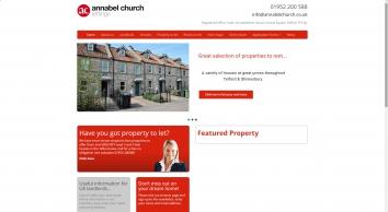 Annabel Church Lettings screenshot