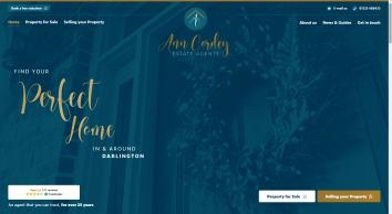 Ann Cordey Estate Agents  screenshot