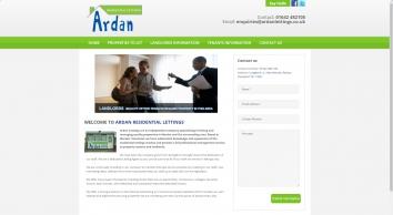 Ardan Lettings & Property Management screenshot