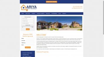 Ariya Property Management screenshot