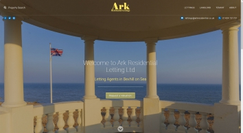 Ark Residential Lettings screenshot