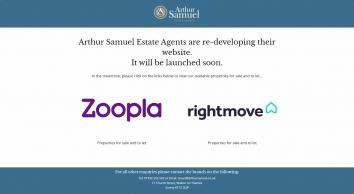 Arthur Samuel Estate Agents screenshot