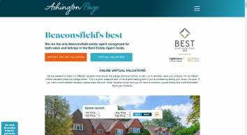 Ashington Page screenshot