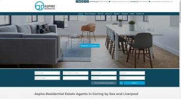 Aspire Residential screenshot