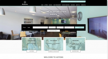 Astons Estate Agents screenshot