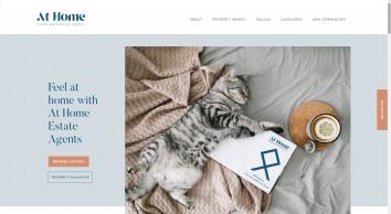 At Home Estate & Lettings Agency screenshot