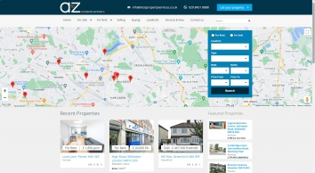 A to Z Property Services screenshot