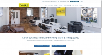 Avard Estate Agents screenshot