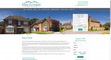 Bailey & Staples Property Specialists screenshot
