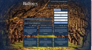 Balfours LLP screenshot