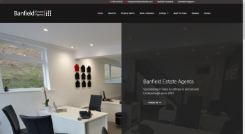 Banfield Estate Agents screenshot