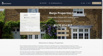 Banjo Properties screenshot