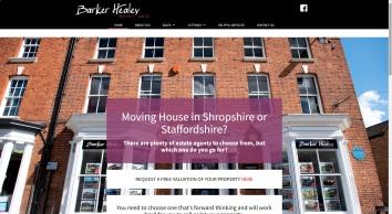 Barker Healey Property screenshot