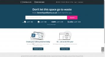 Beverley Wiliams & Associates screenshot