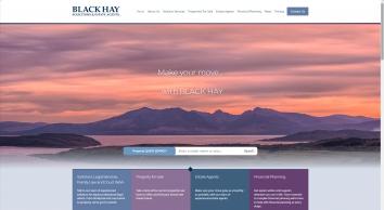 Black Hay Solicitors & Estate Agents screenshot
