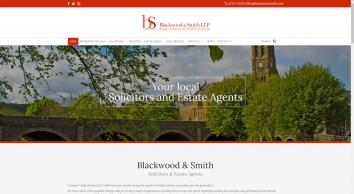 Blackwood & Smith LLP screenshot