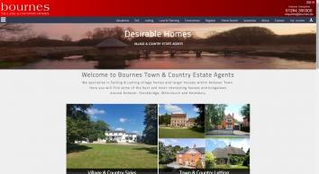 Bournes Estate Agents screenshot