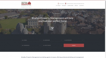 Bradley Property Management screenshot