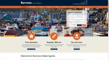 Burrows Estate Agents screenshot