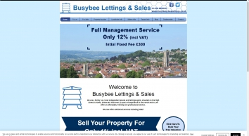 Busybee Lettings & Sales screenshot