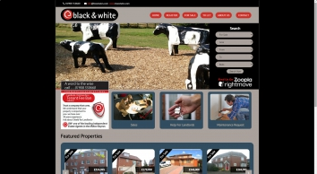 Black & White Estate Agents screenshot