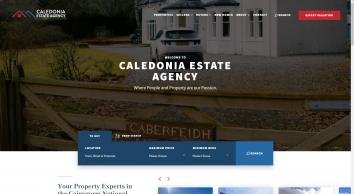 Caledonia Estate Agency screenshot