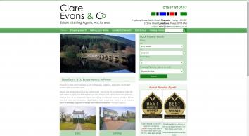 Clare Evans & Co screenshot