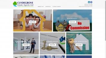 Clydegrove Estate Agents Ltd screenshot