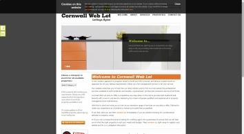 Cornwall Web Let screenshot