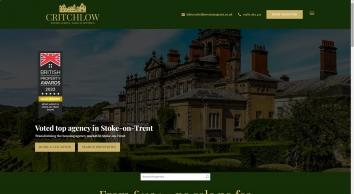 Critchlow Estate Agents screenshot