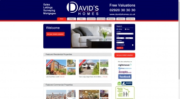 Davids Homes screenshot