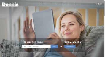 Dennis Estate Agents screenshot