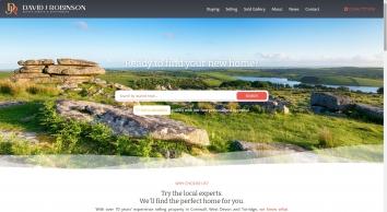 David J Robinson Estate Agents & Auctioneers screenshot
