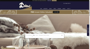 Dobsons Estate Agents screenshot