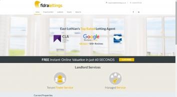Fidra Lettings screenshot