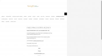 Forsyth Solicitors screenshot