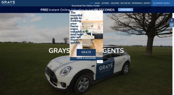 Grays Estate Agents screenshot