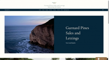 Gurnard Pines Sales and Lettings Limited screenshot