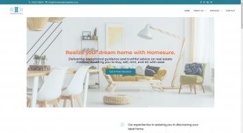 Homesure screenshot