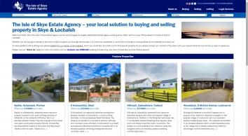 Isle Of Skye Estate Agency screenshot