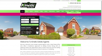 Kinetic Estate Agents screenshot