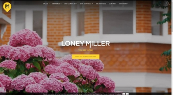 Loney Miller Limited screenshot