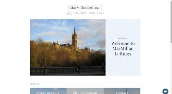MacMillan Lettings screenshot