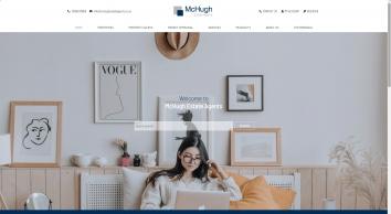 McHugh Estate Agents screenshot