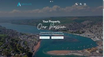 Absolute Sales & Lettings Ltd screenshot